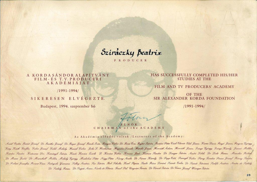 Produceri diploma