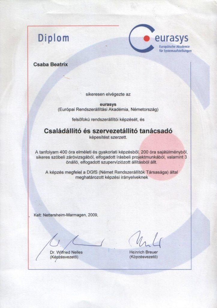 Csalad_szervezetallito_diploma